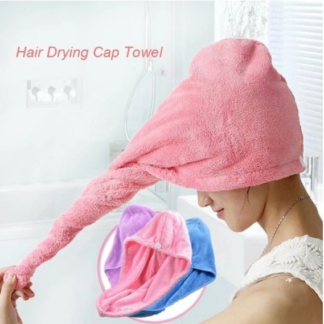 Microfibre After Shower Hair Drying Wrap Towel