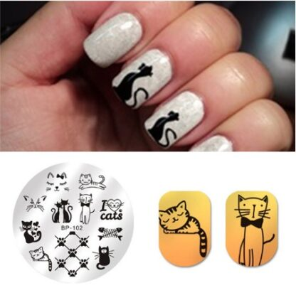 Nail Stamping Template