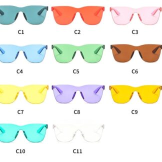 Tinted Trending Candy Sunglasses