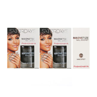Fashionista The Saturdays Magnetism Nail Polish x2 10ml