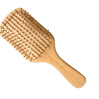 Healthy bamboo comb